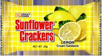 Sunflower Lemon Cream Sandwich