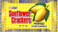 Sunflower Mango Cream Sandwich