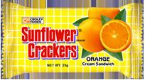 Sunflower Orange Cream Sandwich