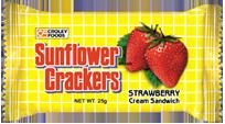 Sunflower Strawberry Cream Sandwich
